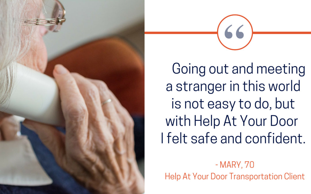 Secure Rides for Seniors: Mary's Transportation Experience