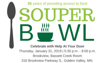 Event: Souper Bowl – Celebrate with Help At Your Door